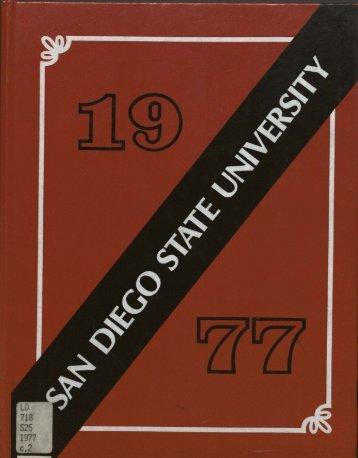 """""""San Diego State University, 1977"""" PDF - Library - SDSU"""