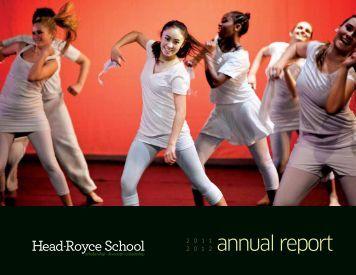 annual report - Head-Royce School