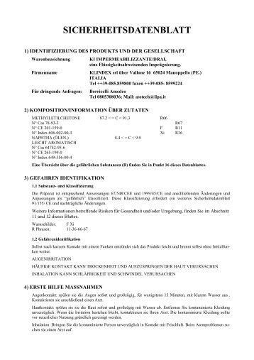 SICHERHEITSDATENBLATT - Sigron