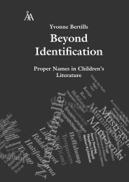 Beyond Identification - Åbo Akademi