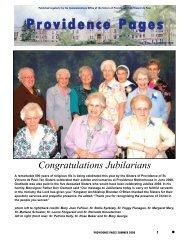 Vol. 3 No. 10 - Sisters of Providence of St. Vincent de Paul