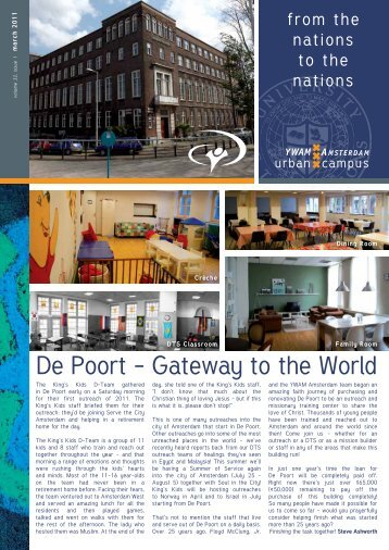 De Poort - Gateway to the World - YWAM Amsterdam