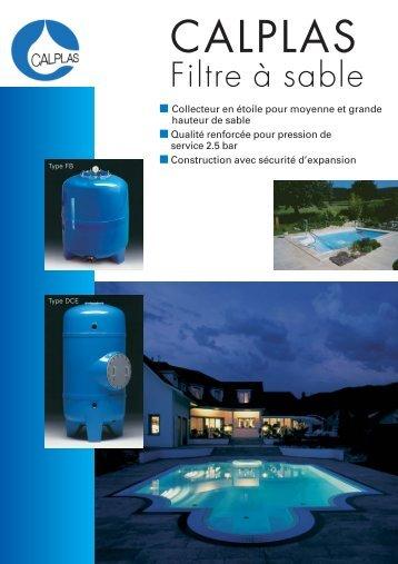 Brochure Calplas pour piscines privée FR - Aqua Solar AG