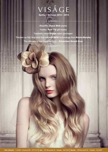 Spring / Summer 2012 - visagebeauty.co.nz