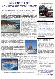 La Sibérie en hiver sur les traces de Michel ... - Espace Est-Ouest