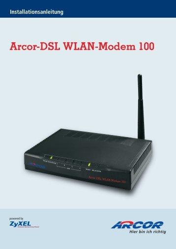 Arcor-Dsl Wlan-Modem 100