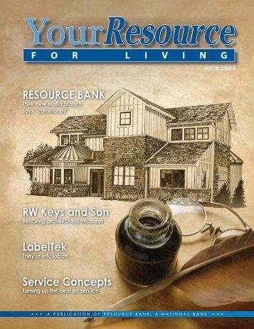 RW Keys and Son - Resource Bank