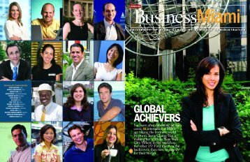 7757 Cover 1 - University of Miami School of Business