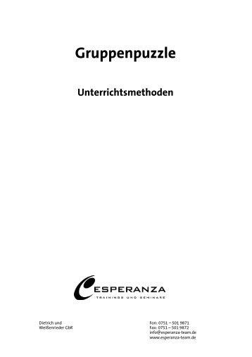 Gruppenpuzzle
