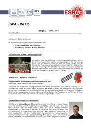 * Nr. s 000040 -  ESRA GmbH