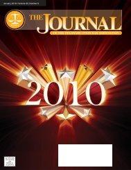 January 2010 • Volume 33, Number 6 - Delaware State Bar ...