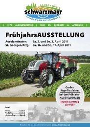Sa, 2. und So, 3. April 2011 St. Georgen/Attg - Schwarzmayr