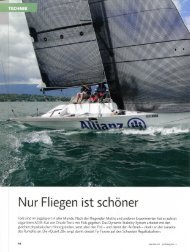 Artikel in Marina, Nr. 53, Juli/August 2012 - Quant-Boats