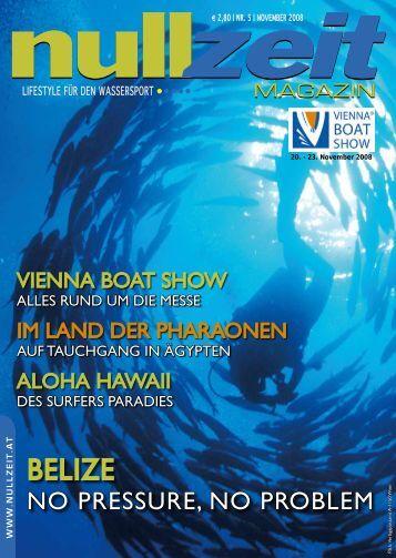 nullzeit Magazin Ausgabe 5/08 - Tauchen auf Nullzeit.at