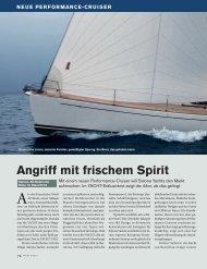 NEUE PERFORMANCE-CRUISER - Salona Yachts