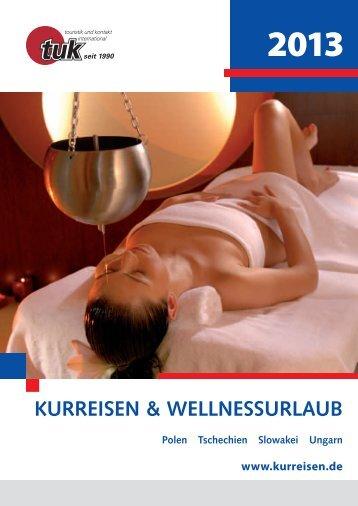 KURREISEN & WELLNESSURLAUB - Touristik und Kontakt ...