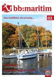 bb:maritim - das maritime Magatin für Berlin und Brandenburg ...