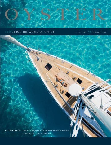 Recently launched Oysters - Oyster Yachts
