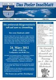 März 2012 - Gemeinde Ostseebad Insel Poel