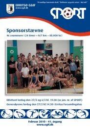 Sponsorstævne - Erritsø Gymnastik