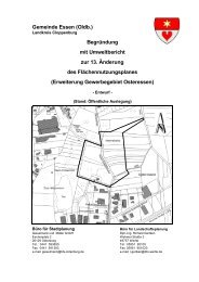 Gemeinde Essen (Oldb.) Begründung mit Umweltbericht zur 13 ...