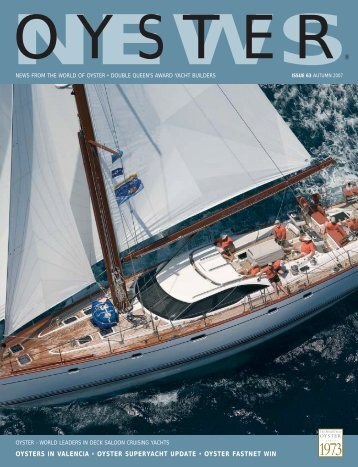 Oyster News 63 - Oyster Yachts