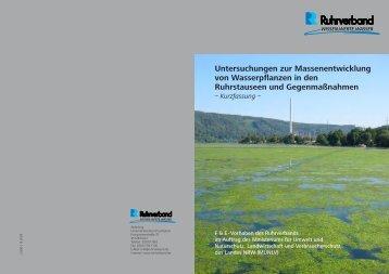 Untersuchungen zur Massenentwicklung von ... - Ruhrverband