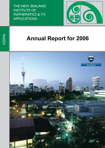 Annual Report for 2006 - nzima