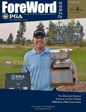 points standings - Pacific Northwest Section PGA