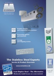 The Stainless Steel Experts - MSTAINLESS
