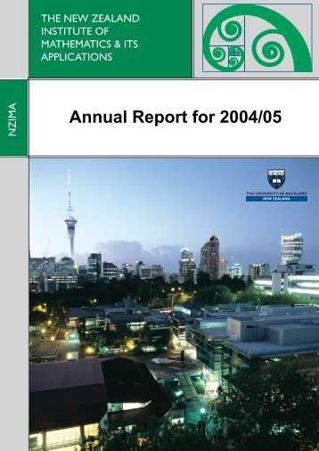 Annual Report for 2004/05 - nzima