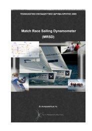 Match Race Sailing Dynamometer (MRSD)