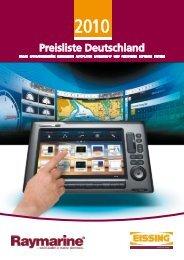 Preisliste Deutschland