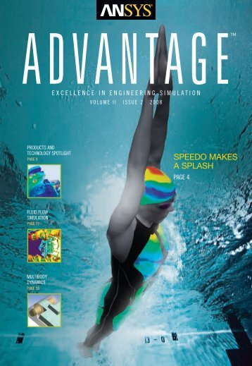 ANSYS Advantage • Volume II, Issue 2, 2008 - MESco