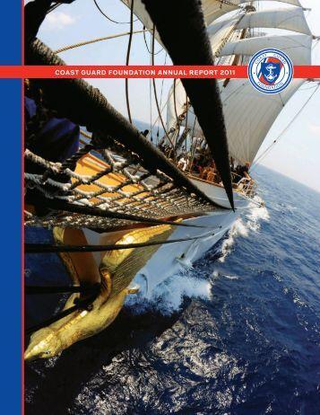 2011 Annual Report - Coast Guard Foundation