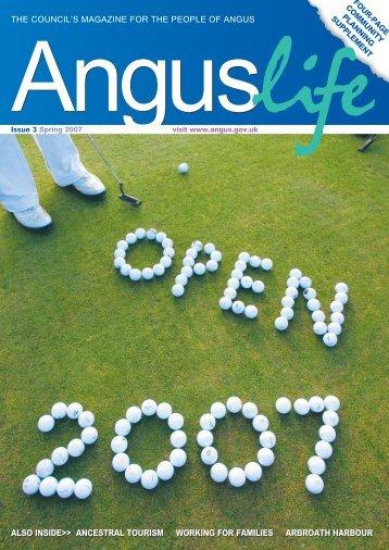 Spring 2007 - Angus Council