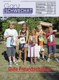 URANI GASTRONOMIE RESTAURANT ... - Stadtgemeinde Schwechat