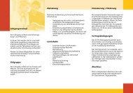 Lehrgangsverlauf Zielgruppe Zielsetzung Lerninhalte Finanzierung ...