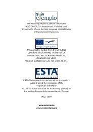 What is an ePortfolio? - ESTA-Bildungswerk