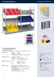 SCHRÄGBODENREGALE - Estant GmbH