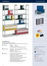Aktenregale Schraubsystem - Estant GmbH