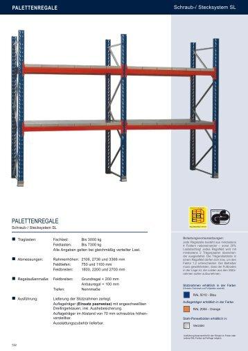 PALETTENREGALE - Estant GmbH