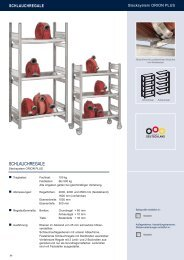 SCHLAUCHREGALE - Estant GmbH