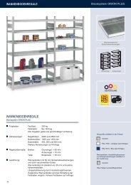 WANNENBODENREGALE - Estant GmbH