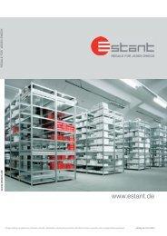 herunterladen (2,3 MB) - Estant GmbH