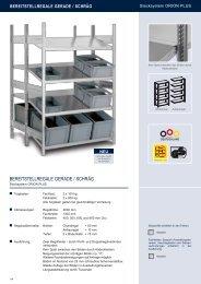 BEREITSTELLREGALE GERADE / SCHRÄG - Estant GmbH