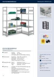 ECK-FACHBODENREGALE - Estant GmbH
