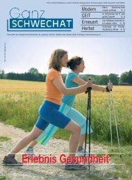 Erlebnis Gesundheit - Stadtgemeinde Schwechat