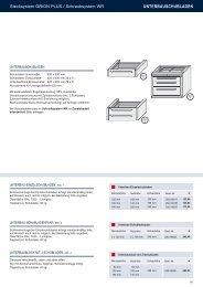 UNTERBAUSCHUBLADEN - Estant GmbH