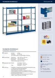 FACHBODEN-ROHRREGALE - Estant GmbH